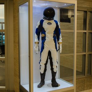 In addition to building a working spacesuit for Orbital Outfitters, we built promotional replicas as well.