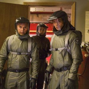 Military Bio-Hazard suits / Costume Designer Jenni Gullett