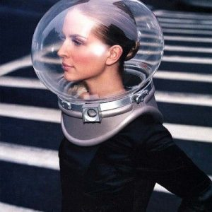 50's bubble helmet
