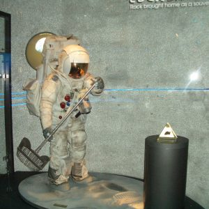 Replica of a later mission Apollo spacesuit for EXPO 2005, in Nagoya Japan