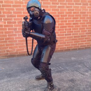 Manufacture for rent Sci-Fi swat body armor / Costume Designer Hala Bahmet