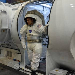 Training replicas of the Mark III advanced spacesuit