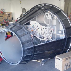 Mercury Capsule Filming Cockpit  / Prop Master John Harrington