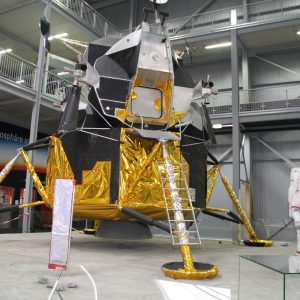 Custom full size Apollo LM, suits and equipment for the Technic Museum, Speyer Germany