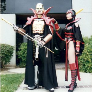 Costumes for the Lead villains, Count Dregon and Nefaria for Saban Entertainments version of Masked Rider