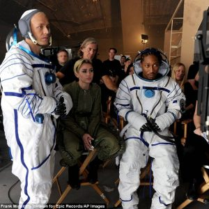 Space Bootz  video, using Russian Sokol suits & MC1 suit