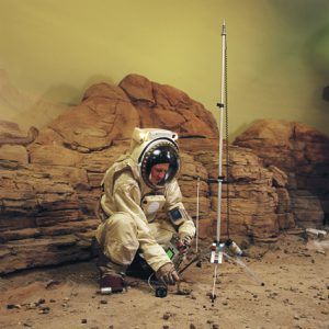For the Denver museum of Nature & Science  we built suits and props to simulate living on Mars.
