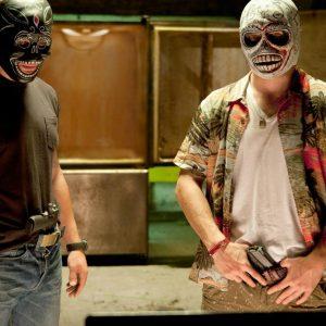 Vacuum-formed masks / Prop Master Kirk Corwin