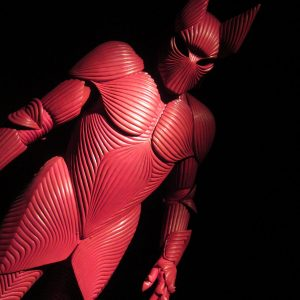 The iconic red armour for Gary Oldman /  Costume Designer Eiko Ishioka
