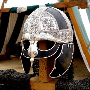 Highly detailed replica of a 6th century Scandinavian