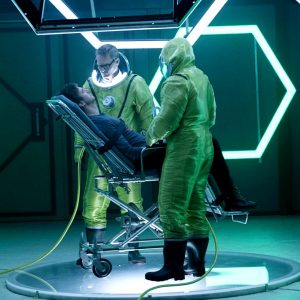 Custom manufacture for rent Bio-Hazard suits for season 2 / Costume Designer Robert Blackman