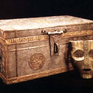 The Mask and the Viking Box (unaged) for the movie: The Mask / Production Designer Craig Stearns
