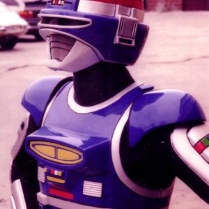 Space Sheriff Shaider, built for the TV series VR Troopers for Saban Entertainment
