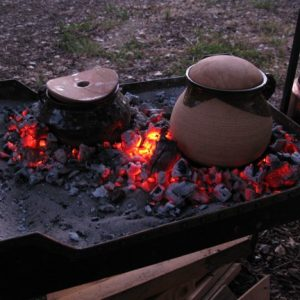 10th century cooking implements / Designer Chris Gilman